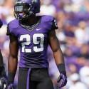 Football and Track and Field Jordan Moore=Texas Christian University, TCU