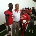 Black Tibbs C/O 2012 UGA Head Coach Mark Richt & Mrs. Tibbs  Go Mom!