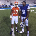 Kevin Byard MTSU  Quinton Boswell Savannah State University We love when they play each  We Got KING.... Both have younger brothers that play for KING now...We Family