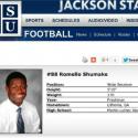 Romello Shumake = JSU #88 Shuuummmaaakkkeee