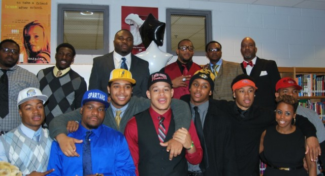 MLK Lions Football 2015 Signing Day Ceremony