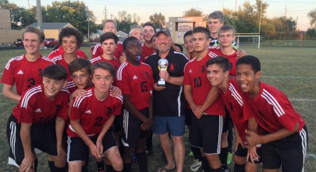 Boys Soccer Captures Tournament Trophy
