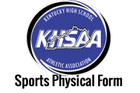New 2015-16 KHSAA Physical Form
