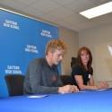 Gavin Sullivan Signing