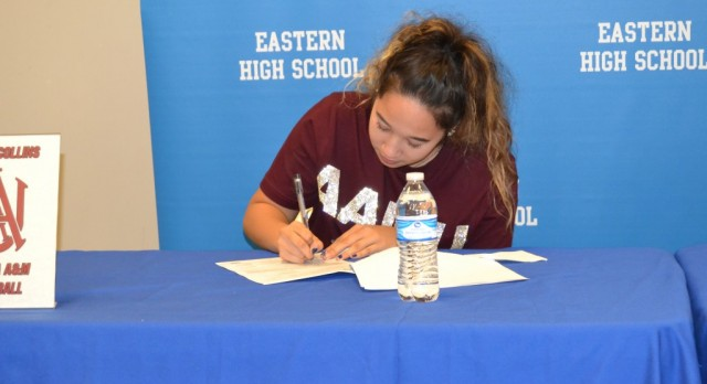 Natalie Collins Signing