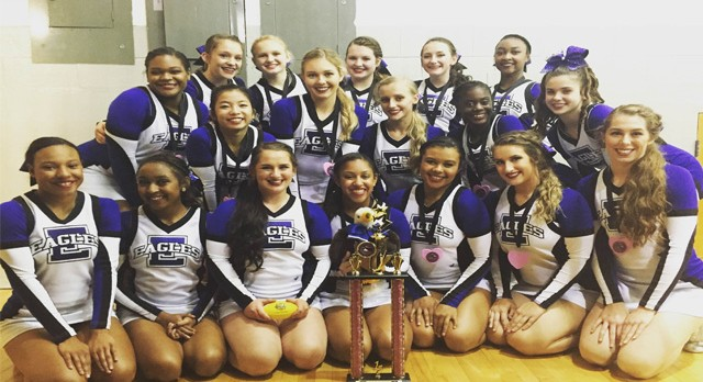 Cheer Team Wins First Competition