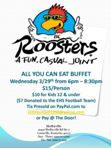Roosters Flyer 2017