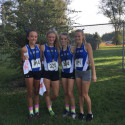 The young Eagles set the tone in the JV girls race