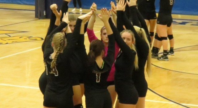 KUDOS TO THE FALCON VOLLEYBALL TEAM!