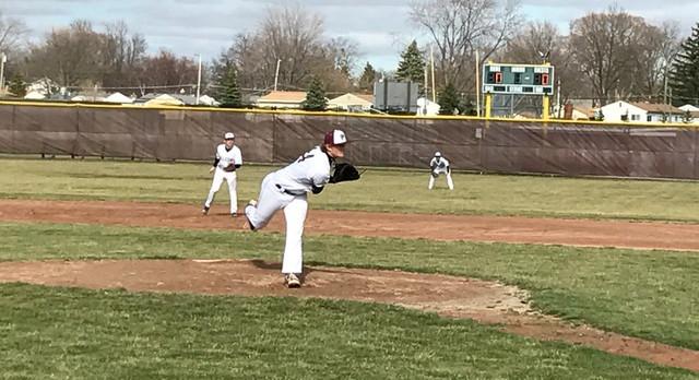 FALCON Baseball Blanks Lakeview 15-0 in Season Opener
