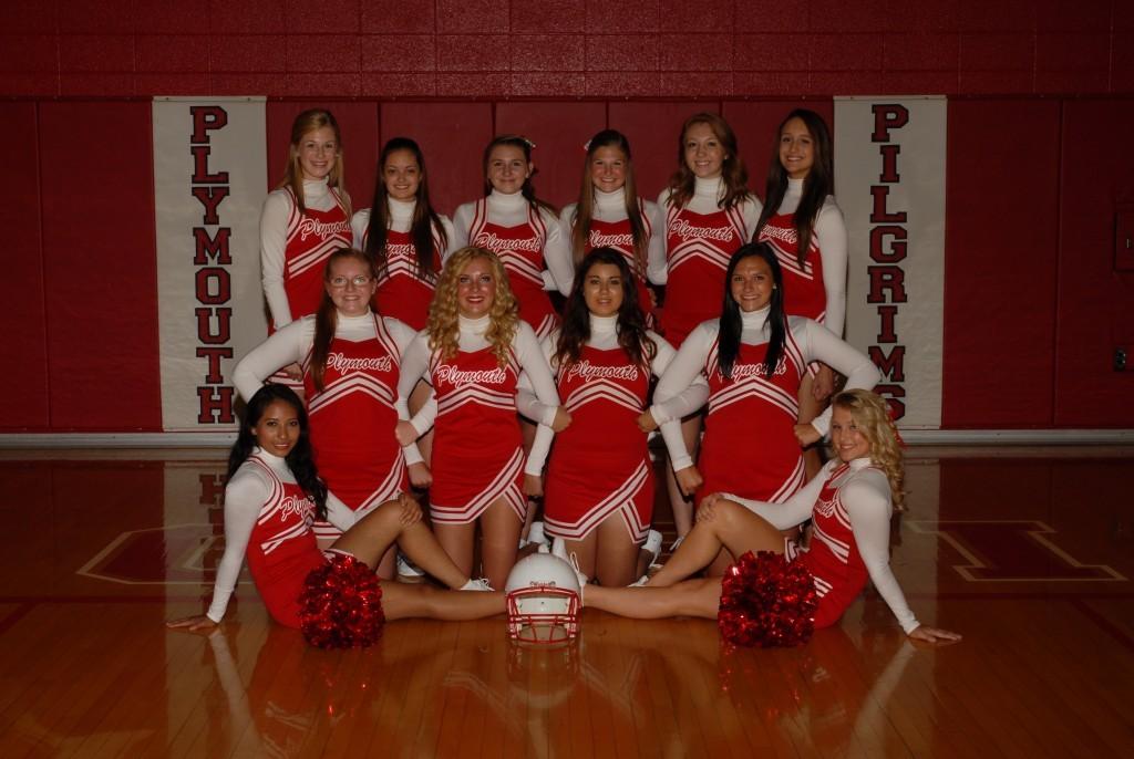 Football Varsity Cheerleaders