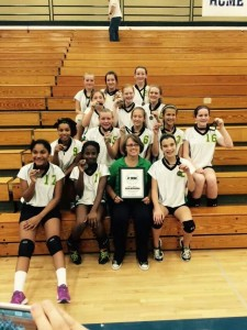 7th Grade Volleyball Champs