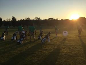 Team on the range