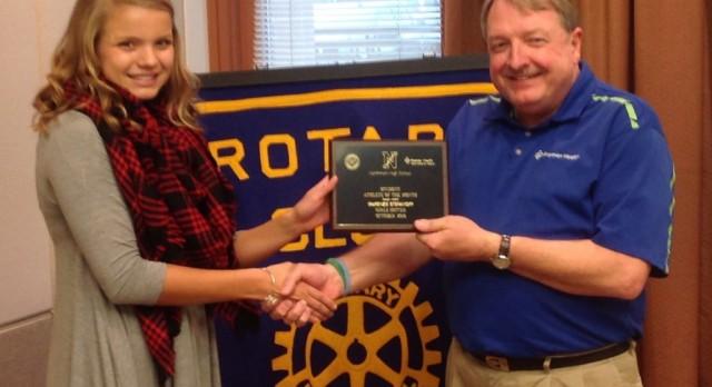 Rotary Athlete – McKenzie Stefanoff