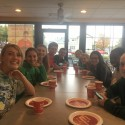 Cross Country Team Pizza Dinner Before Regional Championship