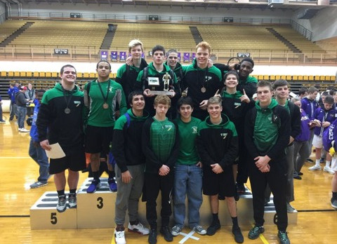 Wrestlers win West Division,2nd Overall in 20 team GWOC Tournament
