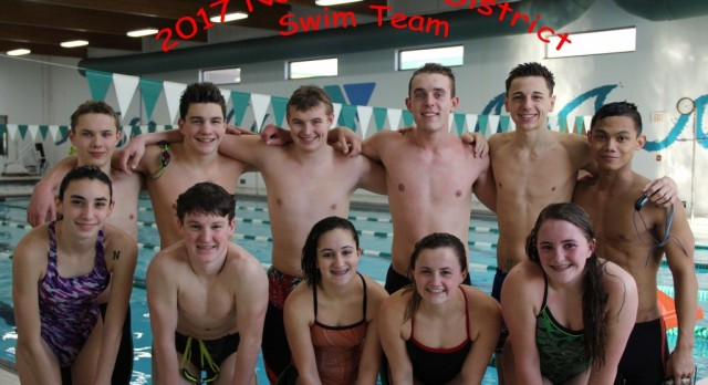 11 Swimmers Advance to the District State Meet
