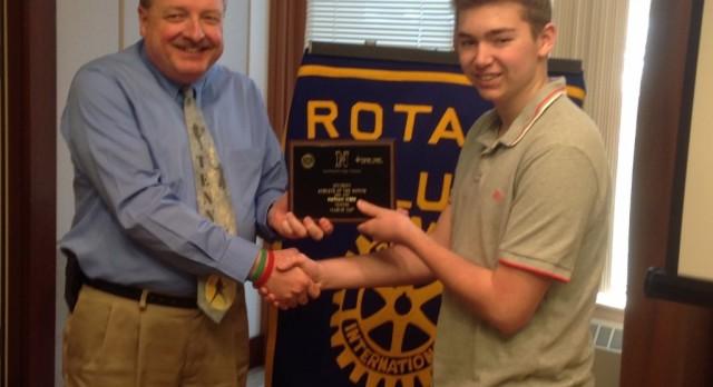 Rotary Athlete – Nathan Webb