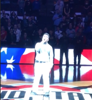 Eric Hawkins – National Anthem at OHSAA