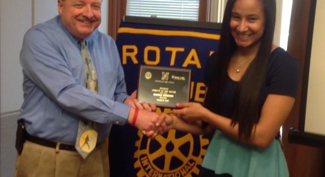 Rotary Athlete – Marissa Anderson