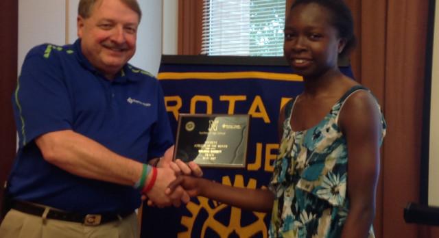 Rotary Athlete – Melissa Barrett