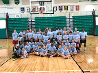 Girls Basketball Kids Camp