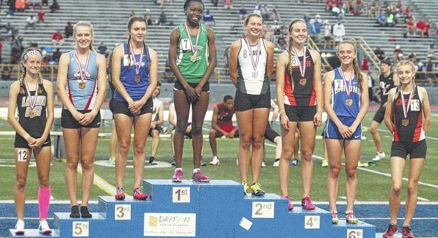 Track athletes qualify for state