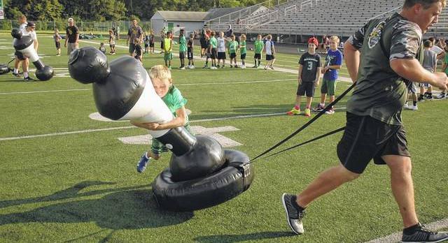 Pee Wee football camp begins