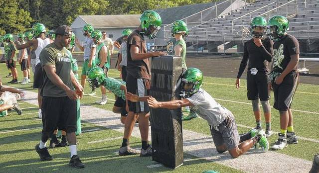 Northmont holds football camp