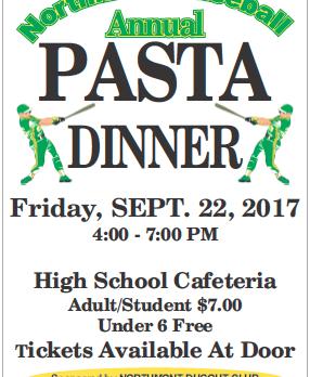 Baseball Dugout Club to host pasta dinner