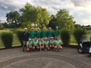 Girls and Boys Varsity Golf Teams.