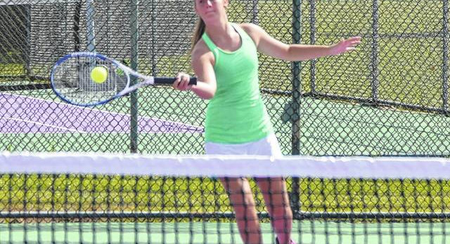 Girls tennis team falls to Butler