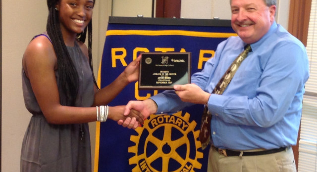 Rotary Athlete – Jaylin Biggs