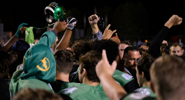 NORTHMONT 21, CENTERVILLE 14 (LATE FRIDAY)