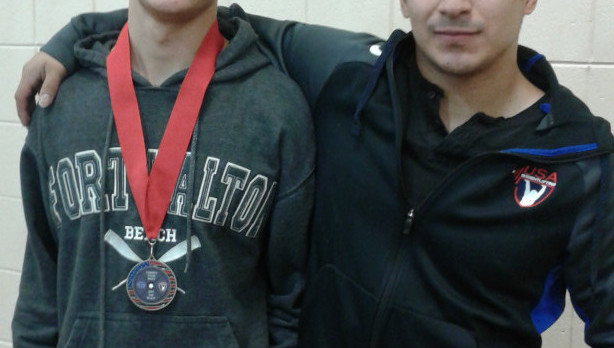 Kalvin Beal takes second place in state weightlifting competition!