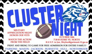 cluster night 2014