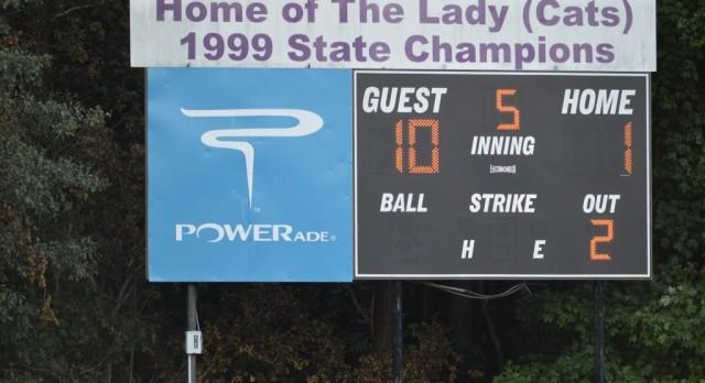 Peachtree Ridge High School Varsity Softball beat Duluth High School 10-1