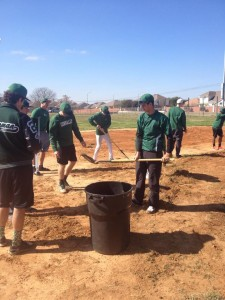 Cougar Baseball at Pflugerville Little League Field Day