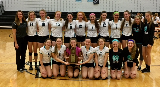 Volleyball Wins Regional Tournament