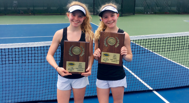 Emma and Katie Beavin – Doubles Tennis State Champions