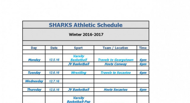 Week In Sports Dec 5-9