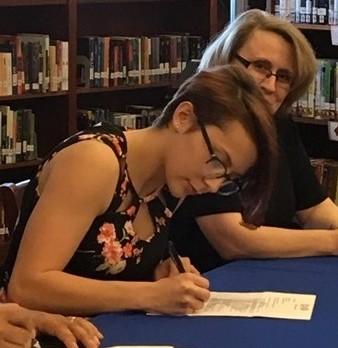 Scholarship Signing
