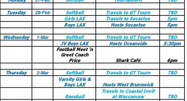 This Week In Sports Feb 27 March 4