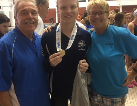 State Swim Results / State Champion Casey Mitchell