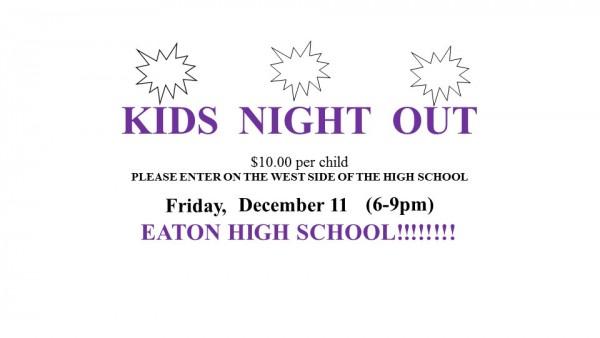 KIDS  NIGHT  OUT Logo - 12.11.15