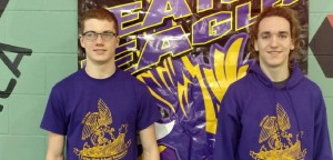 EHS Swimmers Trey Gregory and Mason McCargish qualified to the 2016 OHSAA Division II State Swimming & Diving Championships in Canton, Ohio.