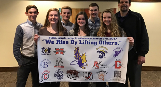 Eaton Student-Athletes Attend Leadership Conference