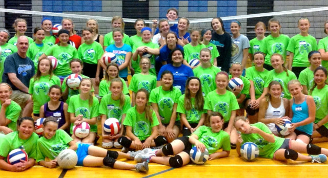 Volleyball Youth Camp