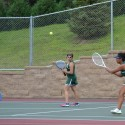 Girls Varsity Tennis vs. Simley High School, Aug. 23, 2016
