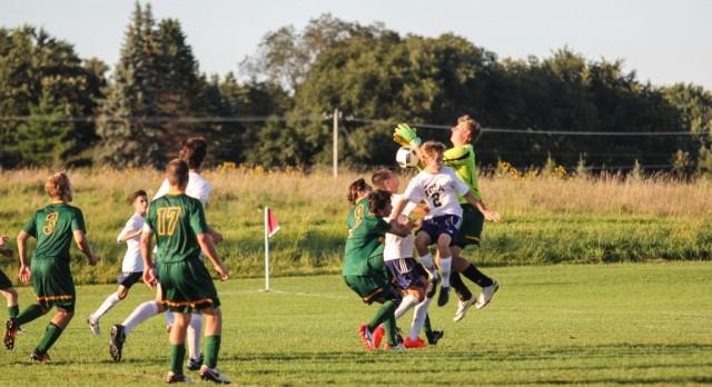 Boys Soccer: Eagles' defense responds in St. Croix Prep win (Woodbury Bulletin)